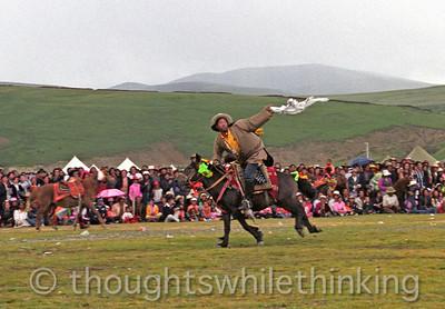 Tibet Kham 2006 Litang Horse Festiival Aug 1 & 2