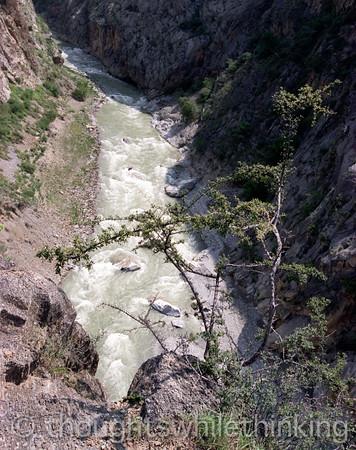 Tibet 2006 Zhongdian to Shating Ding Chu River July 30
