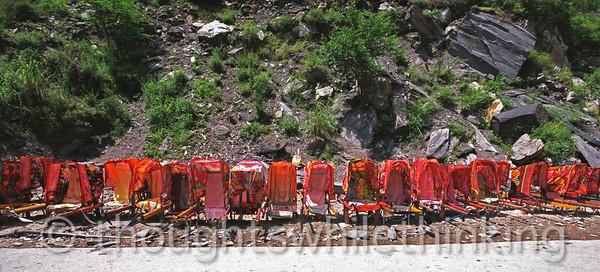 Tibet 2006 Lijiang to Zhongdian Tiger Leaping Gorge July 28