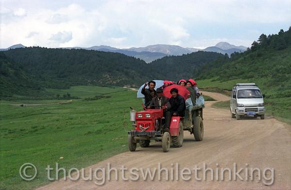 Tibet 2006 outside Ringha near Zhongdian July 29