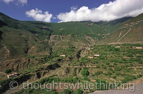 Tibet 2006 Litang to Markham Aug 3