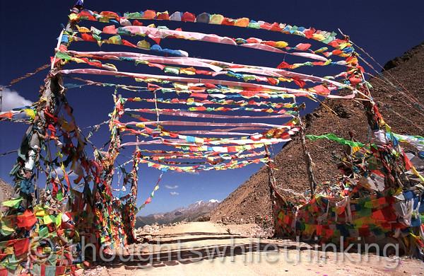Tibet 2006 Derge to Ganze Tro La (pass) 16,235 ft Aug 8