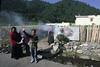 Tibet 2006 Ganze to Tagong burning juniper Aug 9