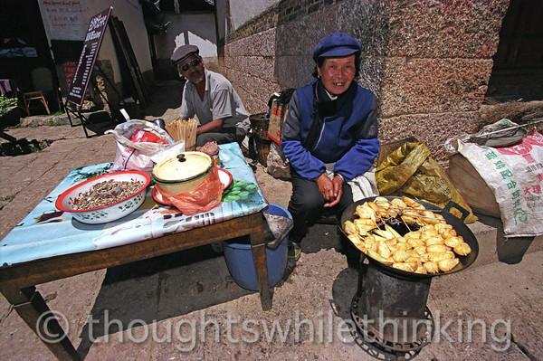 Tibet 2006 Longquan near Lijiang July 27