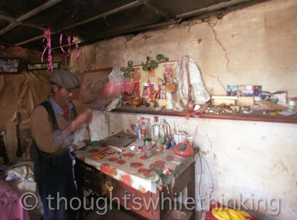 Tibet 2006 Yuhu near Lijiang former monk July 27