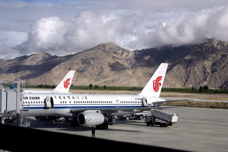 Arrival at Lhasa