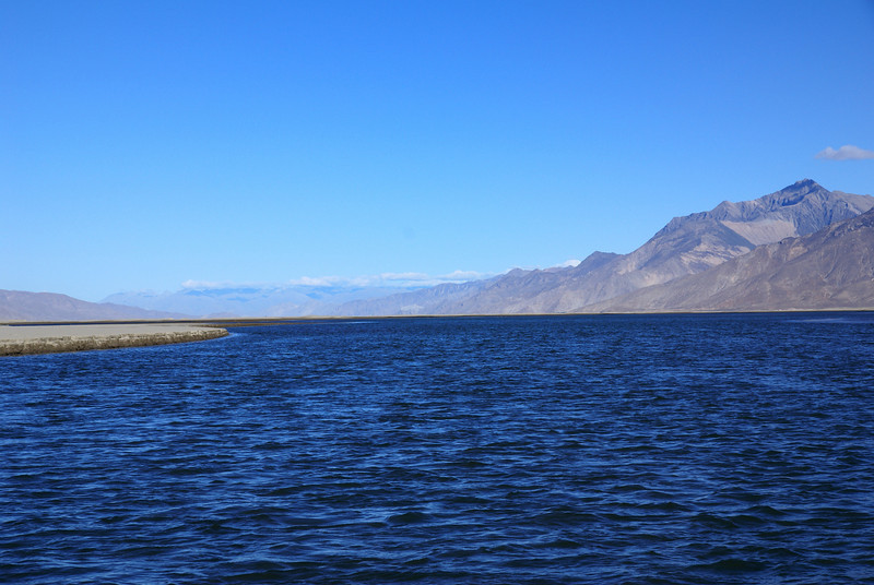 Yarlung Tsampo River near Samye crossing.