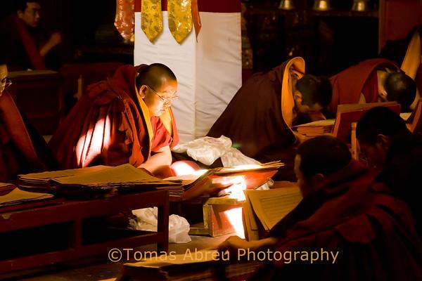 Prayer Assembly, Mindroling Monastery