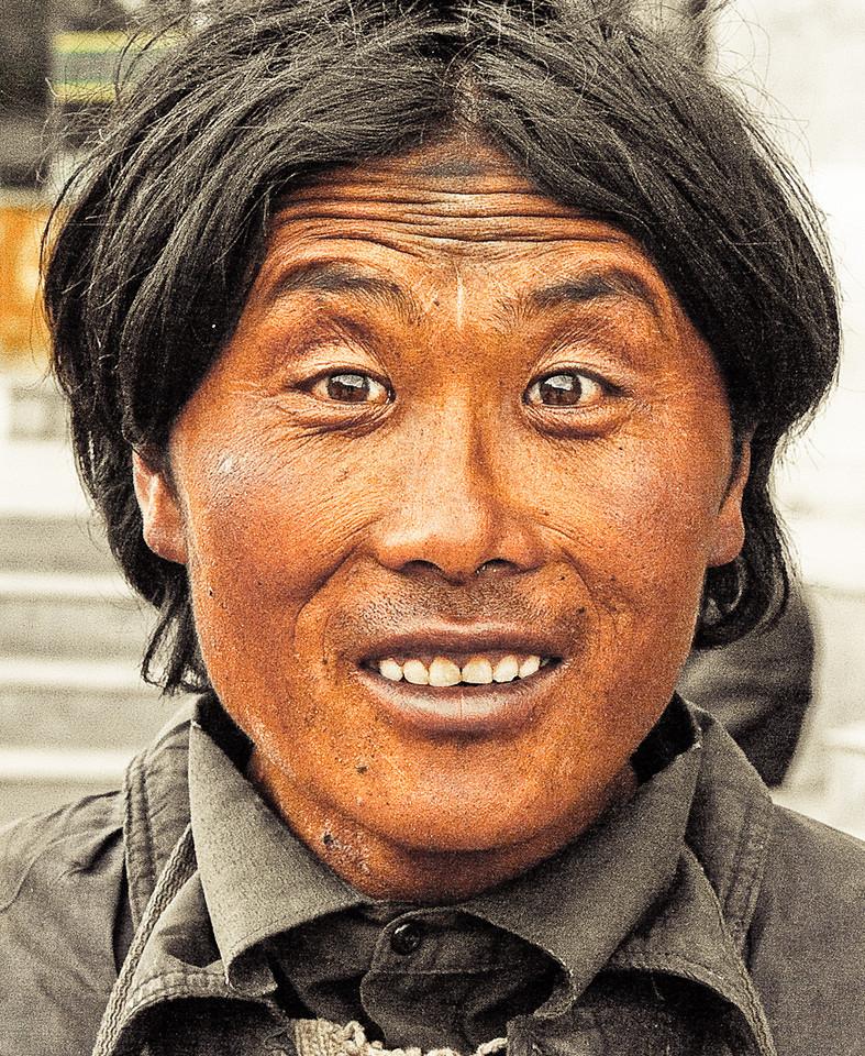 Pilgrim in Lhasa, Tibet