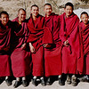 Friendly young monks at Drepung.