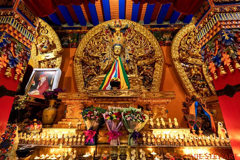Inside the Ngor Monastery
