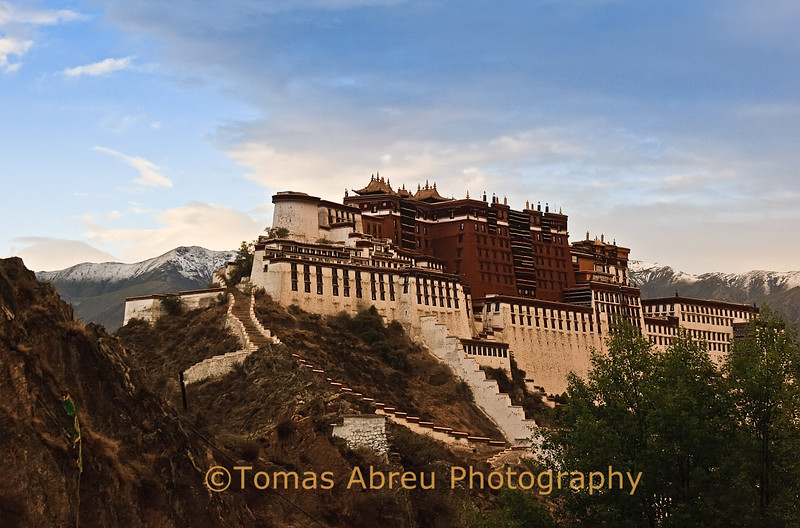 Potala Palace at Dusk, Lhasa, Tibet