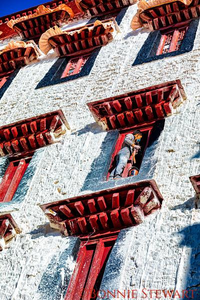 Repairing Windows in Portola Palace