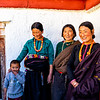 Nomad wives visiting Pelkor Chode Monestary and temples