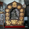 Fasting Buddha in Ghau (Tibetan prayer box).