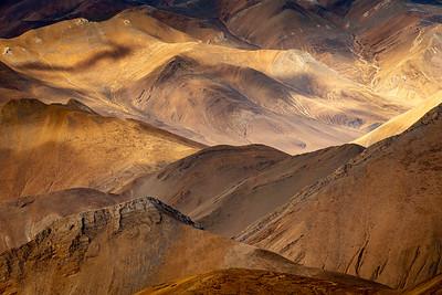 Ridgelines, Tibet
