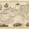 """1875 map depicts """"Thibet"""" as part of Chinese Empire."""
