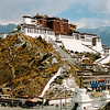 Potala Palace was the residence of the Dalai Lama until 1959.