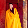 Monk wearing Prayer shawl