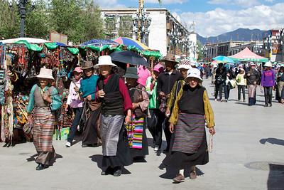 Barkhor Circuit, Lhasa