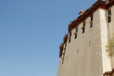 Potala Palace in Lhasa Tibet.