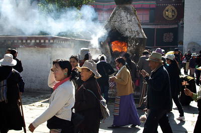 Barkhor Pilgrim Circuit in Lhasa