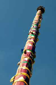 Prayer tower in Lhasa.