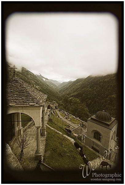 Down the valley towards Locarno