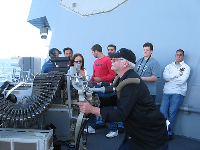 Checking out the 25MM gun
