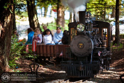 Tilden Park Steam Train