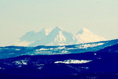 The Three Sisters are 86 miles south of us.