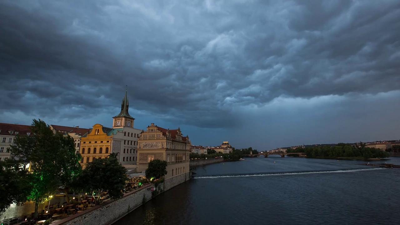 Prague Storm  ©2015  Janelle Orth