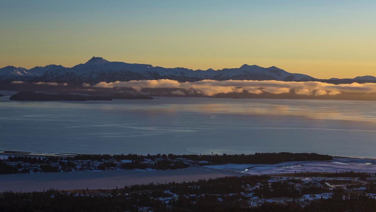 Kachemak Bay Winter Sunset  ©2017  Janelle Orth