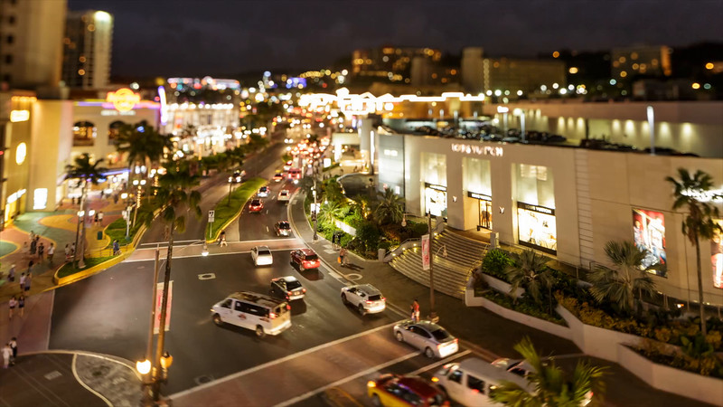 Tumon, Guam traffic time-lapse  ©2016  Janelle Orth