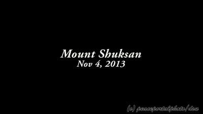 Mount Shuksan time lapse, 11.4.13