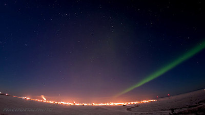 Kotzebue Auroras from 3-2012. Some of the most brilliant lights I have seen happened at this time, including a night I was racing with lights across the frozen lagoon, seeing my own shadow flicker on the snow created by the bright auroras.