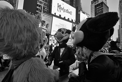 New York, New York - April 27, 2016 :  Times Square/Broadway Early evening  Credit: Robert Altman