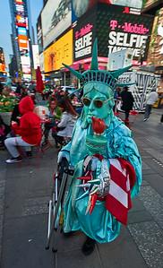 New York, New York - April 27, 2016 :  Times Square/Broadway Early evening  Credit: Robert Altman