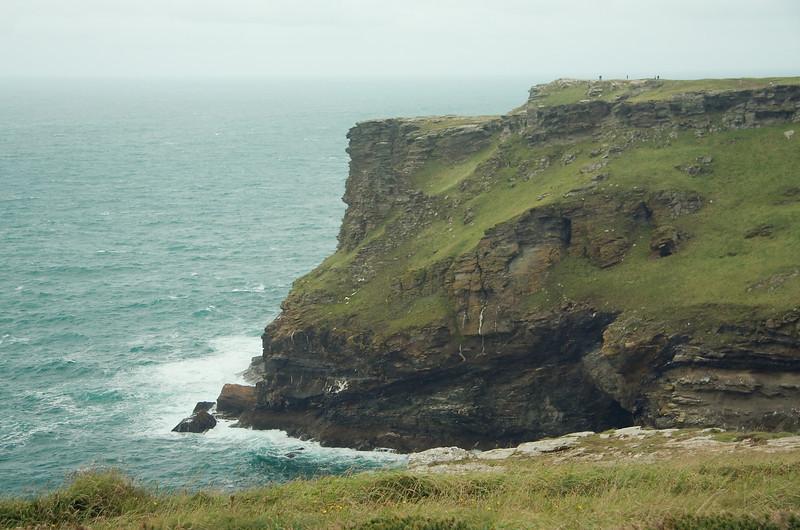 Rugged coastal scenery and the Celtic Sea