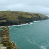 View southwest from Tintagel Head