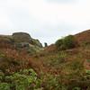 Crumbling ramparts at Tintagel