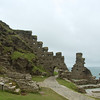 Remains of Camelot on Tintagel Head
