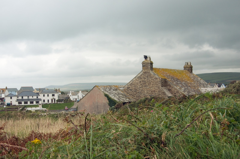 A Tintagel cottage along the St. Materiana Road