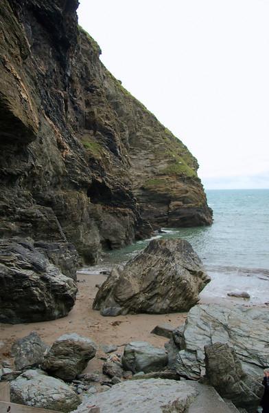 Beside Merlin's cave