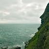 King Arthur's profile on Tintagel Head