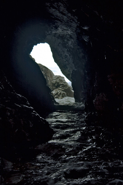 Opposite end of Merlin's cave