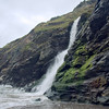 Cascade at Tintagel Head