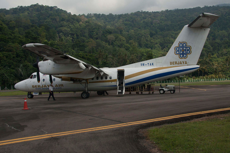 Charter from Singapore to Tioman Island