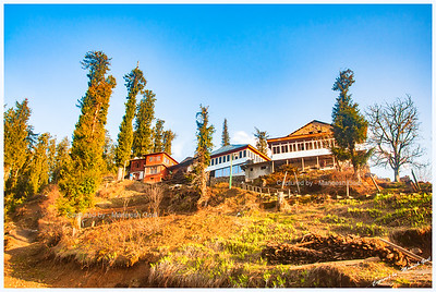 Traditional Himachali House in Shoja