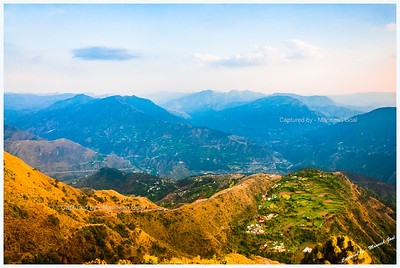 View from Kali Mata Ka Tibba, Chail